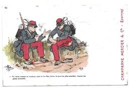 Illustrateur Guillaume Publicité Champagne Mercier Epernay N° 64 - Guillaume