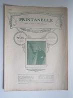 PARTITION PRINTANELLE Gabriel VERDALLE  23,5 X 31,5 Cm Env - Musique & Instruments