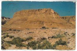 Israele Rovine Della Fortezza Antica Di Massada Sulla Montagna Vicino Al Mar Morto In Israele Del Sud Viaggiata 1961 Con - Israele