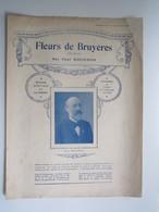 PARTITION FLEURS DE BRUYÈRES VILLLANELLE Paul ROUGNON 23,5 X 31,5 Cm Env - Musique & Instruments