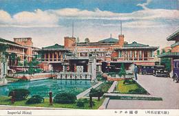 JAPAN - Imperial Hotel, MADE IN JAPAN SEIKAIDO TOKYO - Designed By Frank Lloyd Wright - Tokio