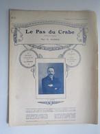 PARTITION LE PAS DU CRABE DANSE NOUVELLE RODDE 23,5 X 31,5 Cm Env - Musique & Instruments