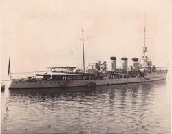 PORT DE SANTANDER Bateau Le Blaz De LEZO En Août 1919 Photo Amateur Environ 7,5 Sur 5,5 Cm - Places