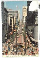 U.S.A. Stati Uniti D'America Cable Car Turntable, Powell & Market, San Francisco Viaggiata 1978 Condizioni Come Da Scans - San Francisco