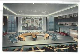 U.S.A. Stati Uniti D'America United Nations New York Security Council Chamber Non Viaggiata Condizioni Come Da Scansione - New York City