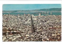 U.S.A. Stati Uniti D'America Panorama Of San Francisco Non Viaggiata Condizioni Come Da Scansione - San Francisco