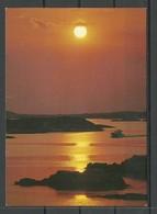 SWEDEN Post Card Sommerabend The Sun Strand Ship - Schweden