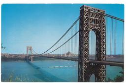 U.S.A. Stati Uniti D'America George Washington Bridge Non Viaggiata Condizioni Come Da Scansione - Stati Uniti