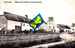 BAILLONVILLE - Maison De M. Martin Et Vue Panoramique - Superbe Carte Circulée En 1911 - Belgique
