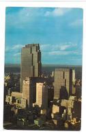 U.S.A. Stati Uniti D'America Midtown Skyline With Rockefeller Center Buildings  New York City Non Viaggiata Condizioni C - Viste Panoramiche, Panorama