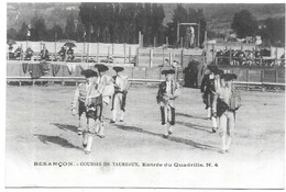Besançon Courses De Taureaux Entrée Du Quadrille N° 4 - Besancon