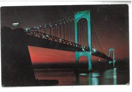 U.S.A. Stati Uniti D'America Bronx Whitestone Bridge  Non Viaggiata Condizioni Come Da Scansione - Stati Uniti