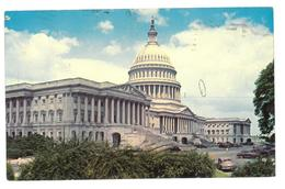U.S.A. Stati Uniti D'America The United States Capitol  Washington D.C. Viaggiata 1971 Condizioni Come Da Scansione - Washington DC