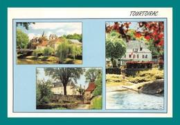 24 Tourtoirac ( Multivues ) Le Chateau, La Mairie, Vue D' Ensemble - Autres Communes