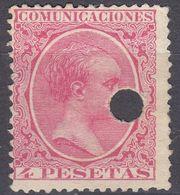 ESPAÑA - SPAGNA - SPAIN - ESPAGNE - 1889- Yvert 210, Non Timbrato, Non Gommato E Perforato. - Nuovi