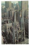 U.S.A. Stati Uniti D'America St. Patrick's Cathedral New York City Viaggiata 1965 Condizioni Come Da Scansione - Chiese