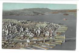 U.S.A. Stati Uniti D'America An Air View Of San Francisco Non Viaggiata Condizioni Come Da Scansione - San Francisco