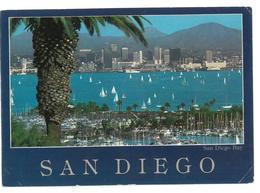 U.S.A. Stati Uniti D'America San Diego Bay California Viaggiata 1988 Condizioni Come Da Scansione - San Diego