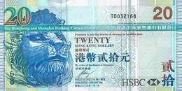 HONG KONG 20 DOLLARS 2009 P-207f UNC  [HK207f] - Hong Kong