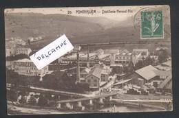 Pontarlier - Distillerie Pernod Fils - Absinthe - Pontarlier