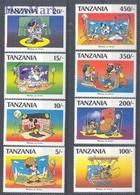 Tanzania 1991 Mi 824-831 MNH ( ZS4 TNZ824-831 ) - Tanzanie (1964-...)