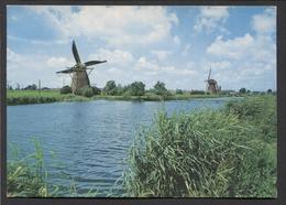 Poldermolen - Kinderdijk  - NOT Used. - See The 2 Scans For Condition.(Originalscan ) - Kinderdijk