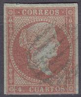 ESPAÑA - SPAGNA - SPAIN - ESPAGNE - 1856- Yvert 39 Usato. - Used Stamps