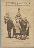 LECTURES POUR TOUS Janvier 1919  Le Marechal Petain Genera-lissime Des Armees Francaise Fait Son Entree A Metz - 1914-18