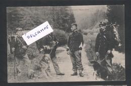 Pontarlier - Douaniers Partant Pour L'embuscade - Pontarlier
