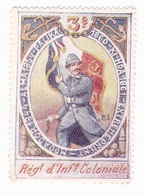 Vignette Militaire Delandre - 3ème Régiment D'infanterie Coloniale - Militario