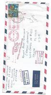 Macedonia Air Mail To USA Kids Red Cross And Returned - Macedonia