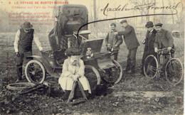 Automobile Le Voyage De Burtey-richard L'accident 1919 - Passenger Cars