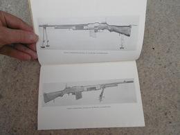 TM Livret De Fusil Mitrailleur FM BAR Calibre 30 M 1918 4 Eme Zouaves - 1939-45