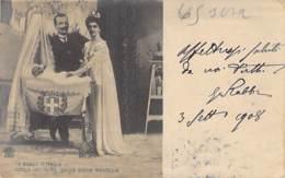 ITALIA Italie - FAMIGLIE REALI Familles Royales : Nella Intimita Della Gioia Novella .. Jolie CPA Photo - Royal Families - Familles Royales
