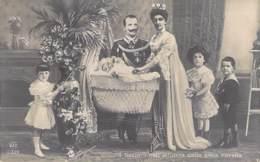 ITALIA Italie - FAMIGLIE REALI Familles Royales - In Sovrani Nell'intimita Della Gioia Novella CPA Photo Royal Families - Familles Royales