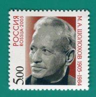 Russia, 2005. [1031] Birth Centenary Of F M.A.Sholokhov - 1992-.... Fédération