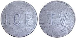01978 GETTONE TOKEN JETON I.C.P. ISTITUTO CASE POPOLARI GETTONE USO T.V. - Italy