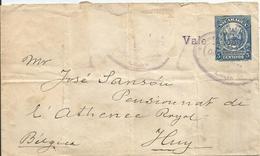 NICARAGUA - Entier Postal - Enveloppe - Vers HUY – 1907 - Nicaragua