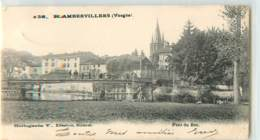 32420 - RAMBERVILLERS - PONT DU BOC - Rambervillers