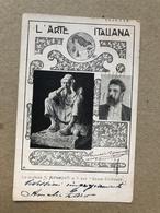 MILANO L'ARTE ITALIANA  LO SCULTORE R. RIPAMONTI E IL SUO ERRORE GIUDIZIARIO  1930 - Sculture