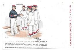 Illustrateur Guillaume Publicité Champagne Mercier Epernay N° 34 - Guillaume