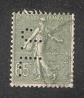 Perforé/perfin/lochung France No 234 J.L. Jules Leresche - Perforés
