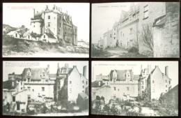MONTSOREAU - Lot De 11 Cartes Anciennes - France