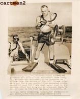 PLONGEUR MIAMI SKIN DIVING PLUNGE FATAL DIVE DEAD SCAPHANDRE SCAPHANDRIER PLONGEUR HOMME-GRENOUILLE - Bateaux