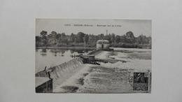 CPA :France >  [58] Nièvre > Decize :Barrage Sur La Loire - Decize