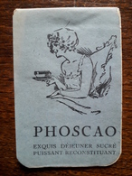 L16/160 Carnet Publicitaire Phoscao - Publicidad