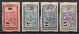 Madagascar - 1922-27 - N°Yv. 150 - 151 - 152 - 153 - 4 Valeurs Surchargées - Neuf Luxe ** / MNH / Postfrisch - Madagascar (1889-1960)
