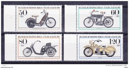 Duitsland Berlin 1983 Nr 655/58 **, Zeer Mooi Lot Krt 3624 - Collections (sans Albums)