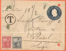 ARGENTINA - 1900 - 5c + 5c + 2c + Missed Tax, Postage Due - Carte Lettre - Intero Postale - Entier Postal - Postal Stati - Interi Postali