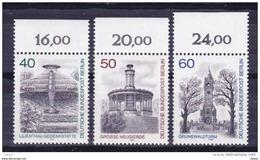 Duitsland Berlin 1980 Nr 595/97 **, Zeer Mooi Lot Krt 3644 - Timbres
